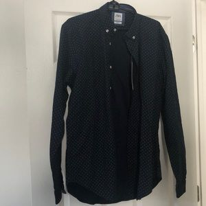 Zara slim fit button down shirt